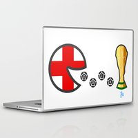 world cup Laptop & iPad Skins featuring England World Cup 2014 by onejyoo