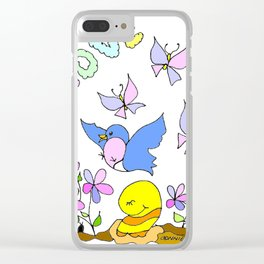 """""""Love Is In The Air"""" Clear iPhone Case"""