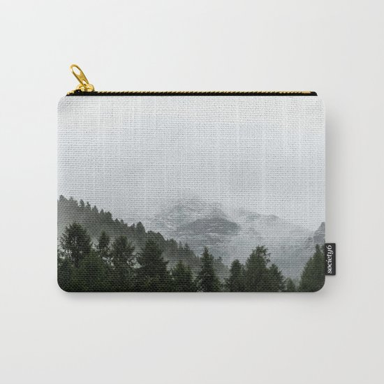Faded Forest Landscape Carry-All Pouch