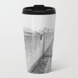 Panama Canal construction Travel Mug