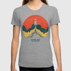 Come See The Universe MEDIUM Womens Fitted Tee Tri-Grey