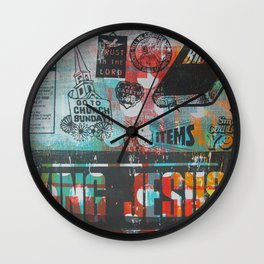 King Jesus Wall Clock