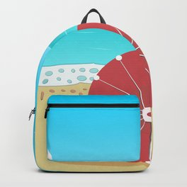 Holiday Romance - Behind the Red Umbrella Backpack