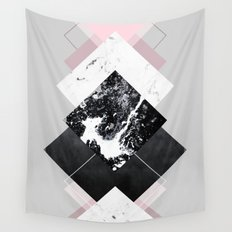 Geometric Textures 7 Wall Tapestry