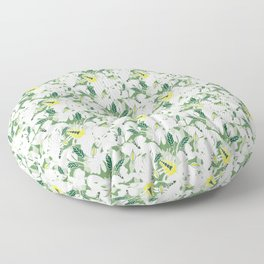 Tropical Zebra-Tranquility Floor Pillow