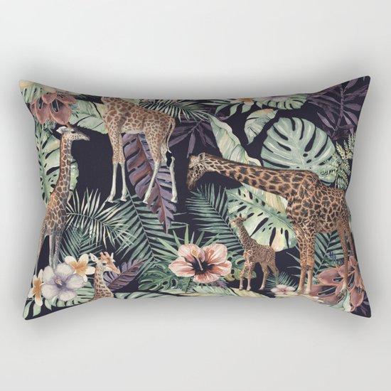 Giraffe Pattern Rectangular Pillow