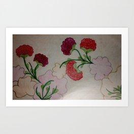 Flower Vine Art Print
