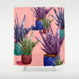 Watermelonandrea Shower Curtain