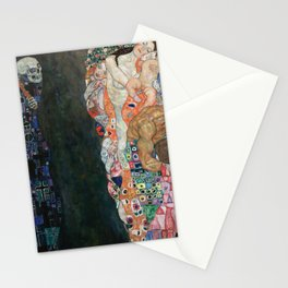 Gustav Klimt - Death and Life Stationery Cards