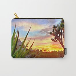 Vivid Daydream in Joshua Tree Carry-All Pouch