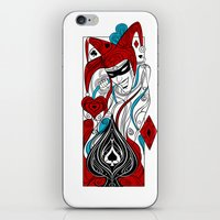 the joker iPhone & iPod Skins featuring JOKER by taniavisual