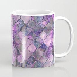 Quatrefoil Moroccan Pattern Lilac Fluorite Coffee Mug