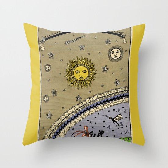 Mestizo - Métis - Mestiço Throw Pillow