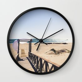Between Cadiz and San Fernando, Andalusia Spain Wall Clock