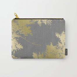 Night's Sky Gold & Grey Carry-All Pouch