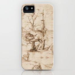 Hieronymus Bosch - The Tree-Man iPhone Case