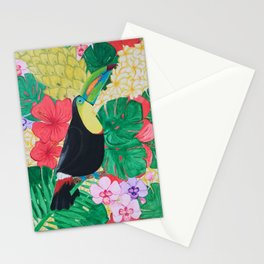 Luis the Tucan Stationery Cards