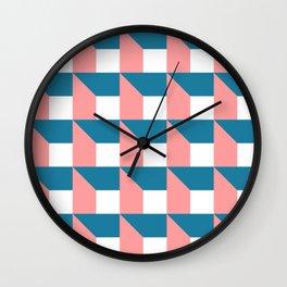 Modern Geometric 50 Wall Clock