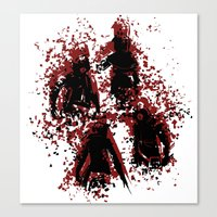 assassins creed Canvas Prints featuring Assassins by LitYousei