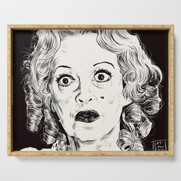 Bette Davis/Baby Jane Serving Tray