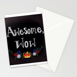 King of sass Stationery Cards
