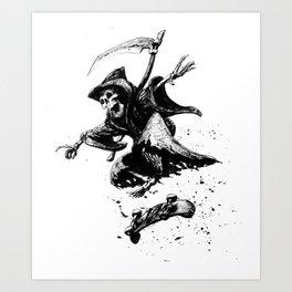 Death Skates! Art Print