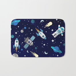 Among the Stars Bath Mat