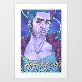American Werewolf Art Print
