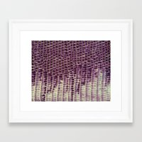 honeycomb Framed Art Prints featuring Honeycomb by BellagioVista