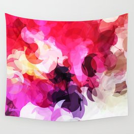 Bright Happy Color Abstract Wall Tapestry