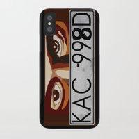 van iPhone & iPod Cases featuring Van Damn Van by Arts and Herbs