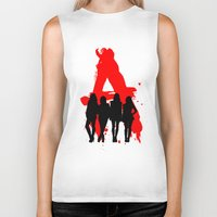 pretty little liars Biker Tanks featuring A's Liars by Lindsay6Link