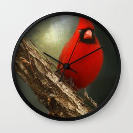 When Angels Are Near Wall Clock