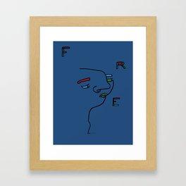 FRE Framed Art Print