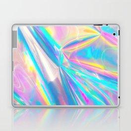 Holographic Foil Love Laptop & iPad Skin