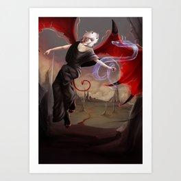 Little devil Art Print