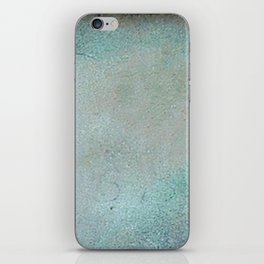 Patina Copper rustic decor iPhone Skin