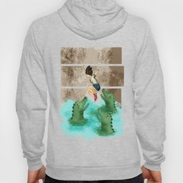 summer camp alligator Hoody