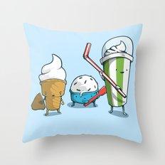 Milky Warriors Throw Pillow
