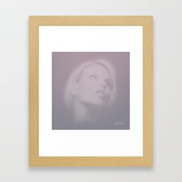 Past Framed Art Print