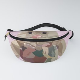 Wether Limited Plush Toy Low Poly Portrait Fanny Pack