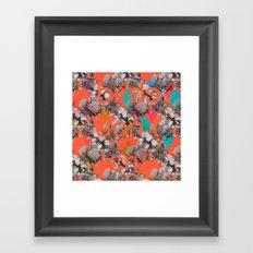 Birds don't cry Framed Art Print