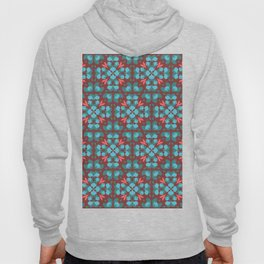 Abstract flower pattern 6b Hoody
