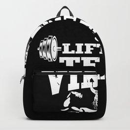 Viking lifting team Backpack