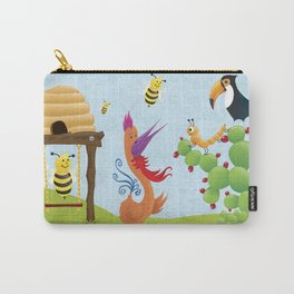 The Bees, The Birds and The Caterpillar Carry-All Pouch