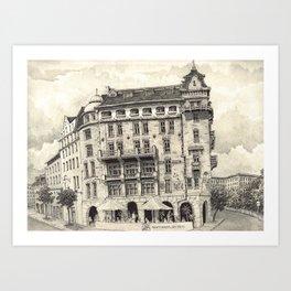 Gothenburg Art Print