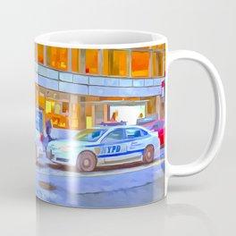 New York Police Department Pop Art Coffee Mug
