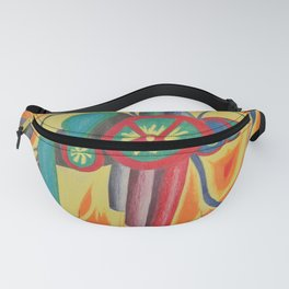 Thin Red Slices Fanny Pack
