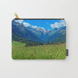 Bergwiese mit Talschluss Carry-All Pouch