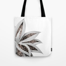 Agave Finesse Glitter Glam #1 #tropical #decor #art #society6 Tote Bag
